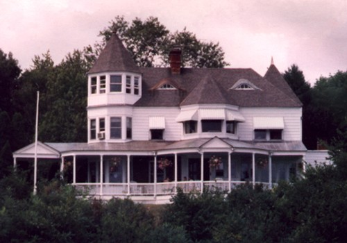 Overlooking The Hudson River, Copper Was Selected For Large Wrap-A-Round Porches, Eyebrow Roofs And Gutters